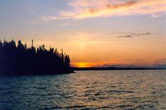 Reindeer Lake, Northern Saskatchewan, Canada