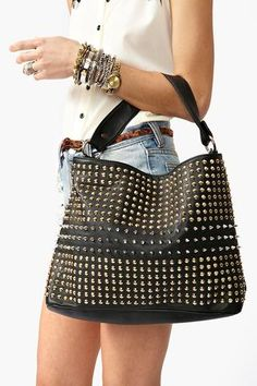 Totally Studded Bag | Nastygal