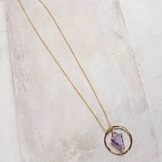 Ringed Arrowhead Necklace | Grae Apparel