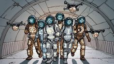 Самые жуткие комиксы про космос, которые вы только можете представить - Изображение 10
