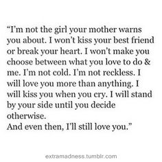 Cute Love Quotes with images Love You More Quotes, Love Yourself Quotes, Young Love Quotes, Quotes About Love For Him, Goodbye Quotes For Him, Cute Quotes For Him, Change Quotes, The Words, Words Quotes