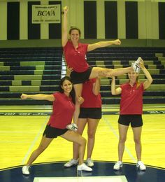 cheer stunts for beginners - Google Search