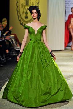 Glamour.ru на показе Ulyana Sergeenko Haute Couture