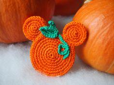 MIckey Mouse Pumpkin Crochet Pattern.