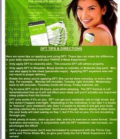 Add THRIVE by Le-Vel to your daily routine to jump start your diet! It's an all natural vitamin to help your body perform at it's peak capability! Find out more goto http://glendal.le-vel.com/, sign up for FREE