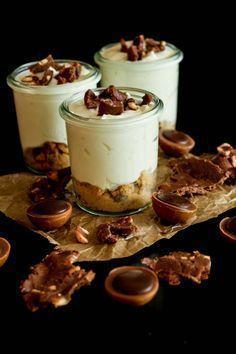 Toffifee Cheesecake im Glas