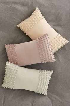 Plum & Bow Nora Tufted Chenille Bolster Pillow