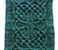 Note from the designer: The written instructions for the cable pattern are now available to download for free from my blog!