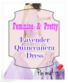 Lavender Quinceanera dress shopping may be one of the best and worst portions of event preparation. to be able to keep your sanity in order, have a look at our tips, which includes style, size. Lavender Quinceanera Dresses, All About Eyes, Different Patterns, Young Women, Aurora Sleeping Beauty, Feminine, Pointers, Pretty, Shopping