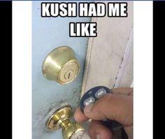 Kush had me like