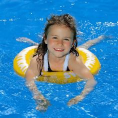"""SWIMTRAINER """"Classic"""" Cute Pictures, Swimming, Yellow, Classic, Outdoor Decor, Kids, Photography, Image, Holidays"""