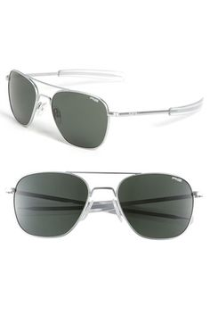 Randolph Engineering 'Signature' Aviator Sunglasses $109