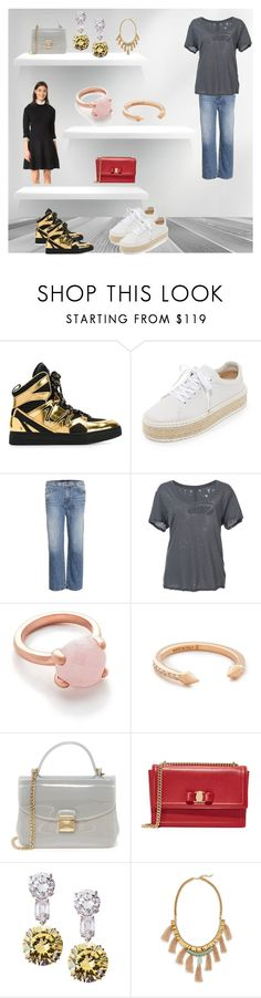 """Fashion for your choice"" by denisee-denisee ❤ liked on Polyvore featuring Marc by Marc Jacobs, rag & bone, J Brand, Unravel, Bronzallure, Vita Fede, Furla, Salvatore Ferragamo, Fantasia by DeSerio and Deepa Gurnani"