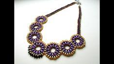 Beaded necklace tutorials.Beading tutorial for beginners.Diy.Jewellery M...