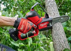 Small Chainsaw, Mini Chainsaw, Battery Chainsaw, Cordless Chainsaw, New Milwaukee Tools, Milwaukee M12, Baby Tech, Electric Chainsaw, Electric Saw