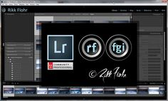 Personalize lightroom to you!