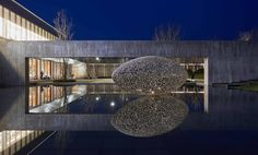 ARTIST Lindy Lee;   ARTWORK TITLE The Life of Stars — Tenderness of Rain;   PROJECT Zhengzhou Cultural Centre;  CLIENTS ino Group;  LOCATION Zhengzhou, China;  BUILD UAP;  YEAR 2016