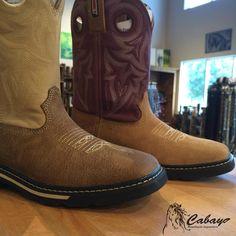 Deux nouveaux modèles de bottes pour femmes qui nous viennent de chez Rocky Boots!  Les semelles antidérapantes et le cuir pleine-fleur en font des produits forts intéressants!