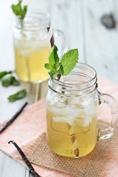 Vanilla Honey Iced Tea Lemonade