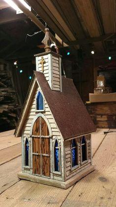 ideas wooden bird houses diy fairies garden for 2019 Bird Houses For Sale, Wooden Bird Houses, Bird Houses Diy, Fairy Houses, Bird House Plans, Bird House Kits, Homemade Bird Houses, Easy Coffee, Kit Homes
