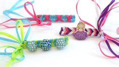 Are you in need of a prefect accessory for tonight? Why not take this twist on Barrettes with the My Ribbon Barrette Maker. Ribbon Barrettes, Ribbon Bows, Ribbons, Craft Kits For Kids, Gifts For Kids, Craft Ideas, Creative Hairstyles, Diy Hairstyles, Online Tutorials