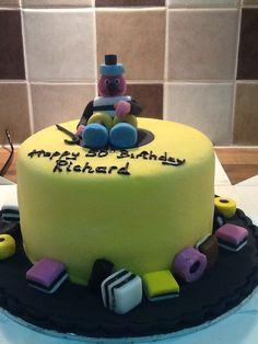 Bertie Bassett cake 1