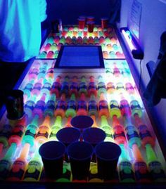 Seriously the best beer pong table I have ever seen. Wonder how hard this would be to make?