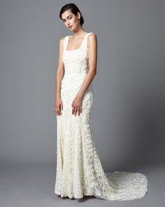 Phase Eight Pandora Wedding Dress Cream