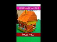 Resultado de imagen de manualidades en castellano casitas