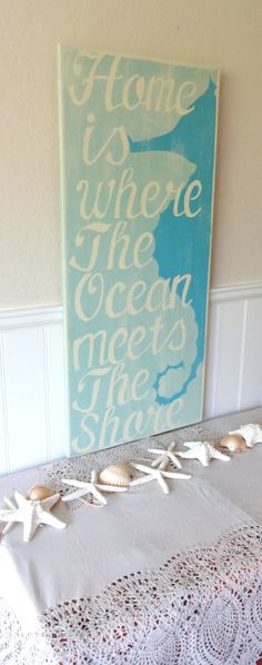 Home is where the ocean meets the shore