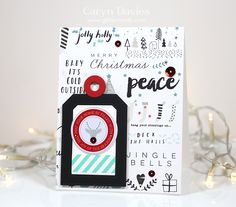 Simon Says Stamp December 2015 Card Kit - Caryn Davies glittermesilly.com