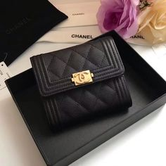 553a345cd6e3 Chanel Wallet Small, Small Wallet, Chanel Handbags, Luxury Handbags, Chanel  Bags,