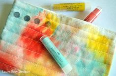 How to use Gelatos on fabric.