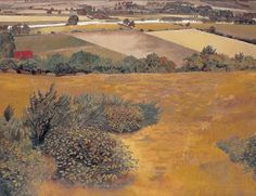 STANLEY SPENCER 1891 - 1959  A VIEW OF THE THAMES FROM COCKMARSH HILL, COOKHAM, 1935