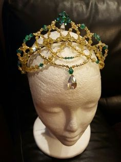 Crystal Dance Tiara, Ballet headpiece. Myprettyballerina by Michelle Fabrega