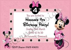 Kids Birthday Standard Invites KBSI 032
