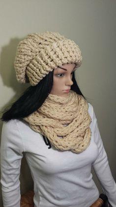 Crochet Infinity Scarf Pattern, 3 Hat, Chunky Infinity Scarves, Winter Wardrobe, Winter Hats, Crochet Hats, Stylish, Shop, How To Make