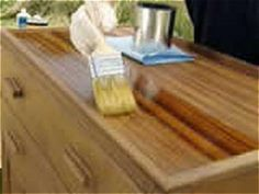DIY Network offers advice on the various types of wood finishes and when each one is used.