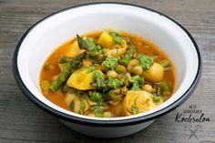 Mein wunderbarer Kochsalon Pesto, Thai Red Curry, Ethnic Recipes, Food, Fresh, Cooking, Recipies, Essen, Meals