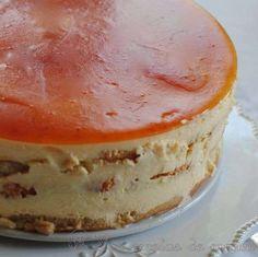 Tarta tiramisú de mandarina
