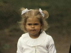 Princess Madeleine, 4 years old. Photography by Thomas Engström / Prb / Scanpix.
