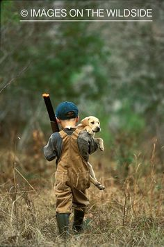 Reminds me of Andy when he was little with a baby Bailey! <3 Love this!