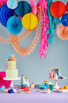 Party supplies by Poppies for Grace