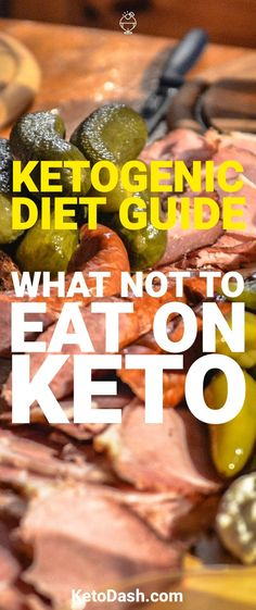 To be successful on the ketogenic diet it's important to understand what not to eat. Here are things that you need to avoid to stay in ketosis.