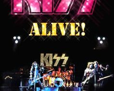 KISS Band KISS Poster KISS Alive 2 Promotional Stand-Up