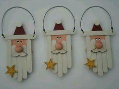 Ornament Crafts, Diy Christmas Ornaments, Homemade Christmas, Christmas Projects, Holiday Crafts, Christmas Holidays, Christmas Decorations, Santa Ornaments, Cheap Christmas