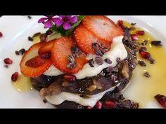 YouTube:  Markus Rothkranz- chef Cara Brotman's recipe for raw vegan pancakes