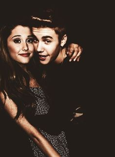 Image result for justin bieber and ariana grande manip