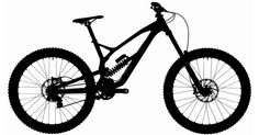 Guess the downhill bike from its silhouette