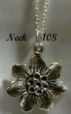 Necklace Flower @Neck108